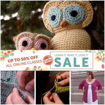 Crocchet Classes at Craftsy