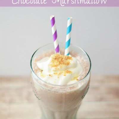 Shake the Cabin Fever with #TruMoo S'mores Milkshakes