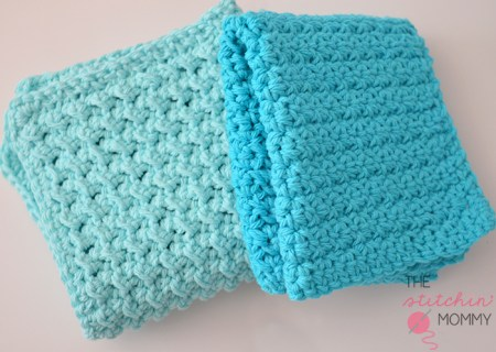 15 Free Patterns for Crochet Dishcloths/Washcloths - The