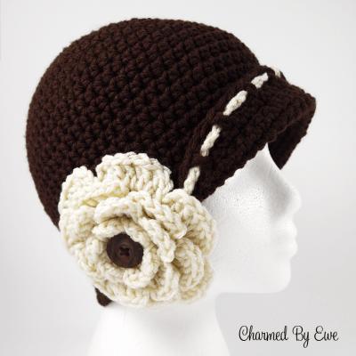 Vintage Inspired Flower Cloche Hat - Paid Pattern