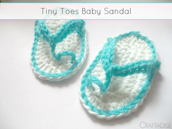 Tiny Toes Baby Sandals Free Pattern The Stitchin Mommy