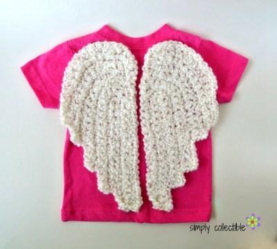 My Lil Angel - Free Angel Wings Crochet Pattern