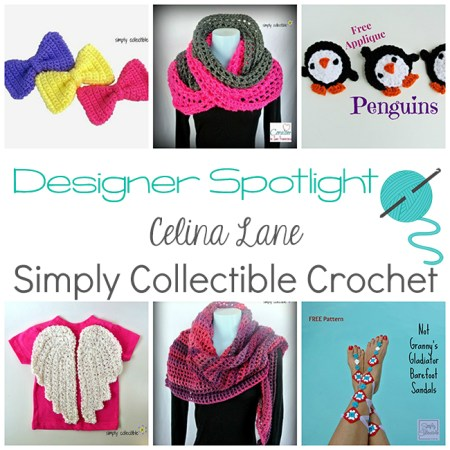 Designer Spotlight - Celina Lane from Simply Collectible Crochet | www.thestitchinmommy.com