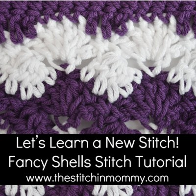 Fancy Shells Tutorial and Afghan Square