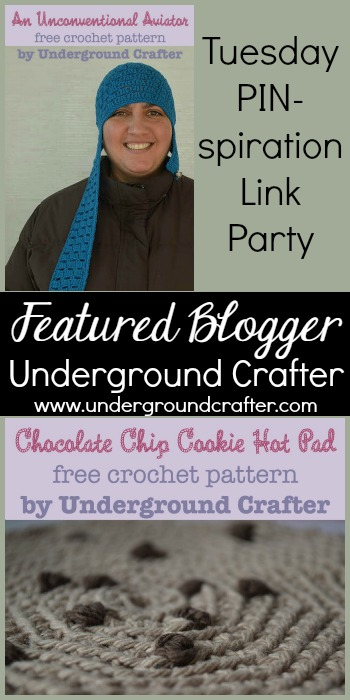 Featured Blogger- Underground Crafter| Tuesday PIN-spiration Link Party www.thestitchinmommy.com
