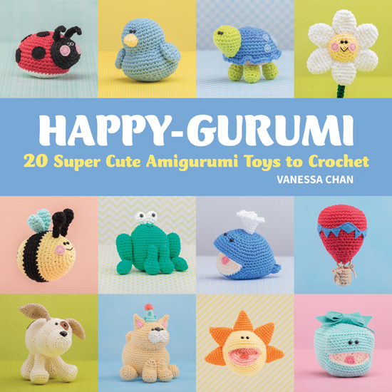Happy-gurumi - 20 Super Cute Amigurumi Toys to Crochet - Book Review   www.thestitchinmommy.com