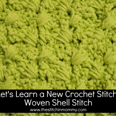 Woven Shell Stitch Tutorial