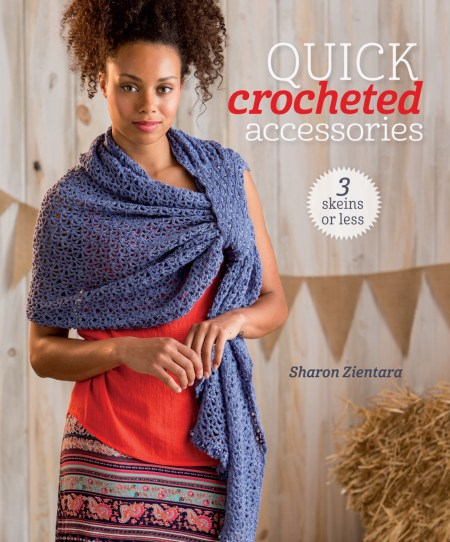 3 Skeins or Less - Quick Crocheted Accessories by Sharon Zientara - Book Review and Pattern Excerpt | www.thestitchinmommy.com