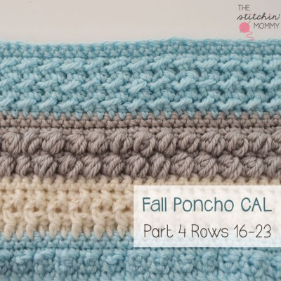 Crochet With Us Fall Poncho CAL – Part 4