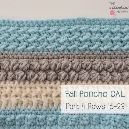 Crochet With Us Fall Poncho CAL Part 4 | www.thestitchinmommy.com