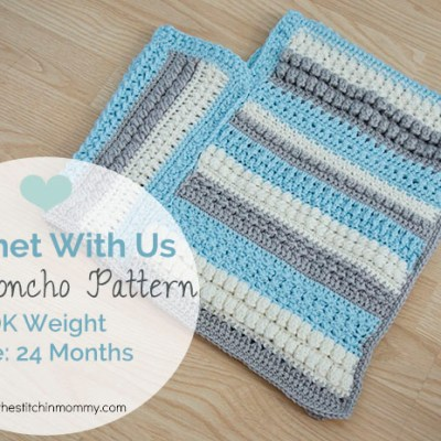CWU Fall Poncho – Size 24 Months