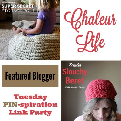 Tuesday PIN-spiration Featured Blogger - Chaleur Life | www.thestitchinmommy.com