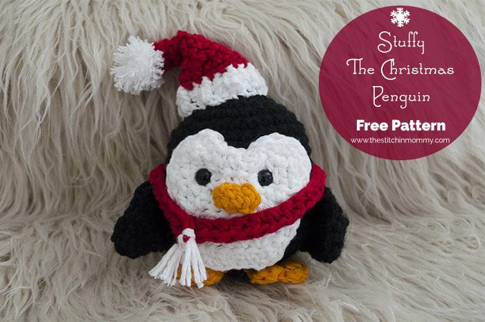 Stuffy The Christmas Penguin – Free Pattern