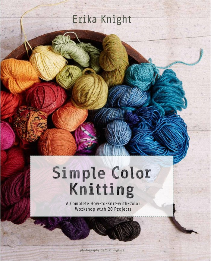 Simple Color Knitting by Erika Knight: Book Review | www.thestitchinmommy.com