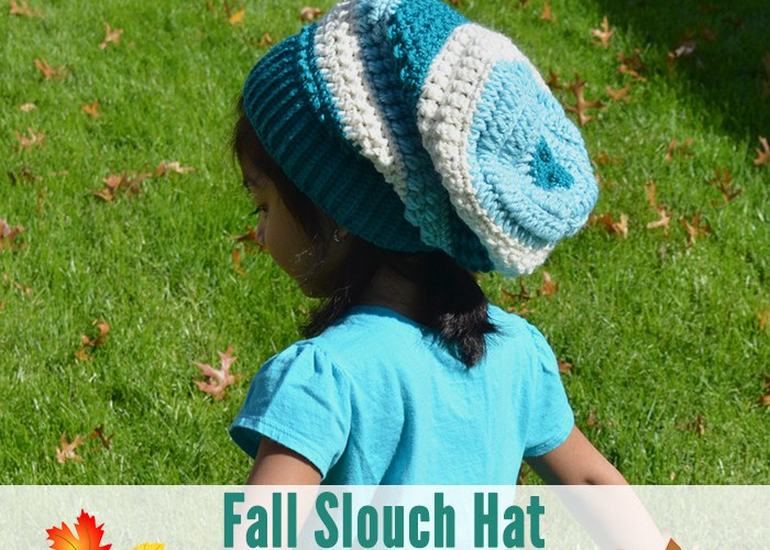Fall Slouch Hat – Size 12-24 Months