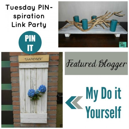 Tuesday PIN-spiration Featured Blogger: My do it yourself | www.thestitchinmommy.com