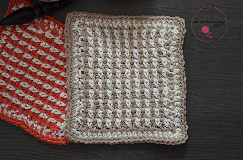 15 Free Patterns For Crochet Dishclothswashcloths The Stitchin Mommy