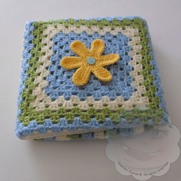 Ladybird And Love Squares Free Crochet Pattern The Stitchin Mommy