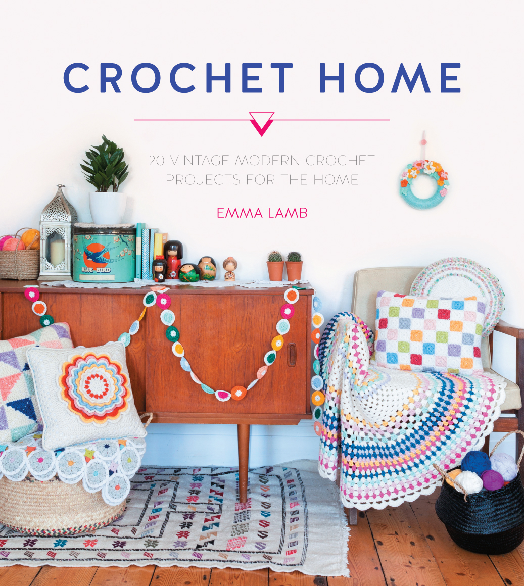 Crochet Home - 20 Vntage Modern Crochet Projects for the Home by Emma Lamb: Book Review | www.thestitchinmommy.com