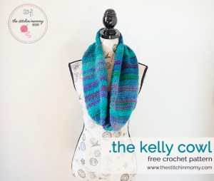 The Kelly Cowl - Free Crochet Pattern | www.thestitchinmommy.com