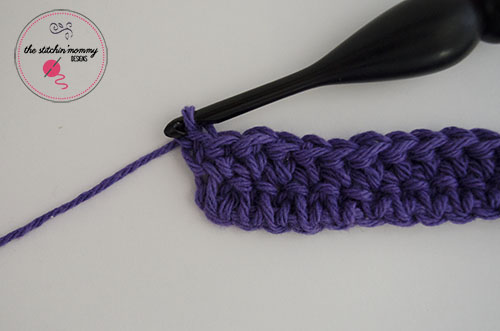 Let's Learn a New Crochet Stitch Pattern Kitchen Crochet Edition -Extended Single Crochet Stitch Tutorial and Dishcloth Pattern | www.thestitchinmommy.com