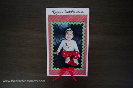 Create the Perfect Holiday Card and #SaveYourMemories with HP | www.thestitchinmommy.com