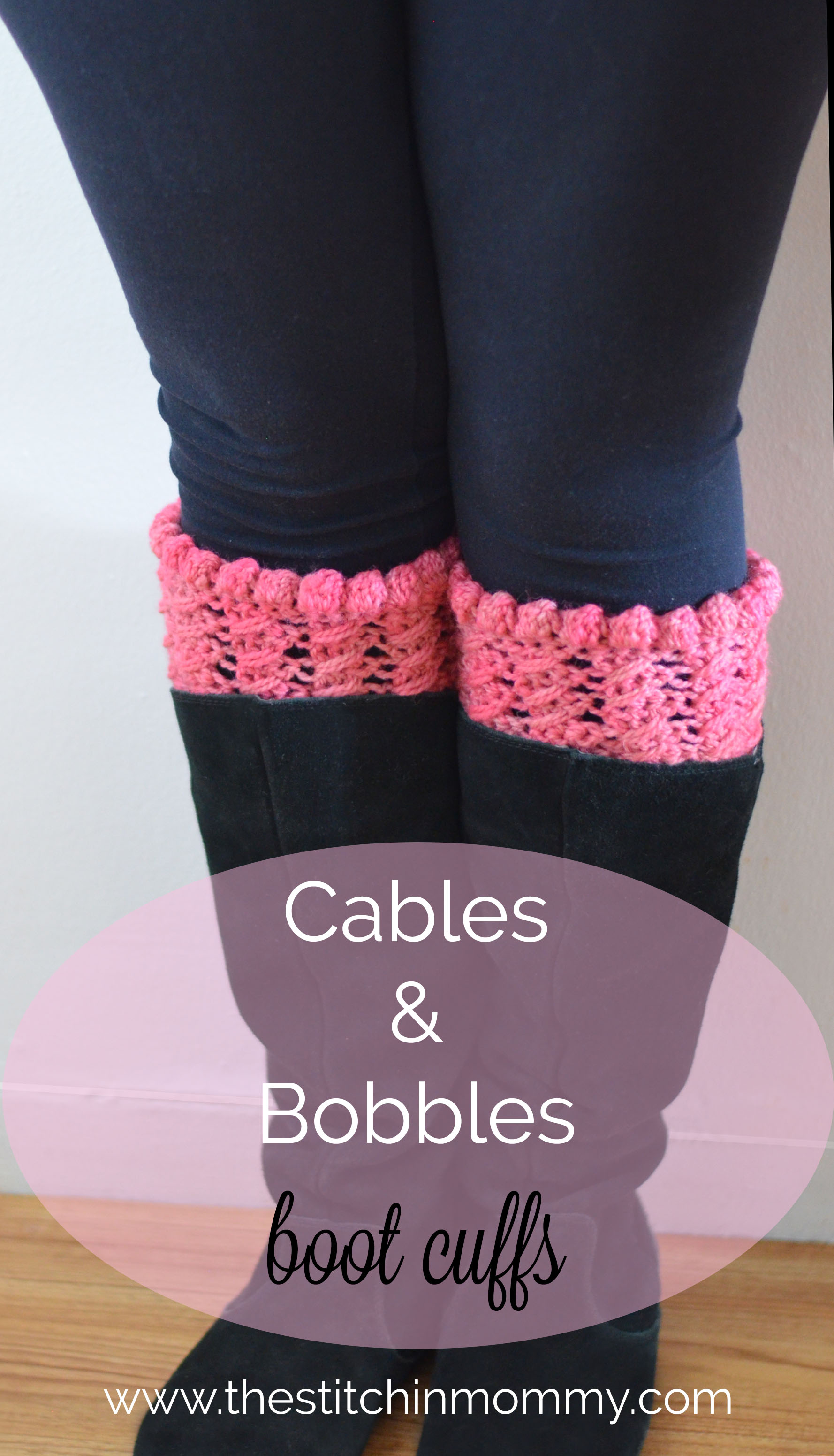 15 Free Patterns for Crochet Boot Cuffs - The Stitchin Mommy