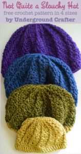 Not-Quite-a-Slouchy-Hat-free-crochet-pattern-by-Underground-Crafter-in-4-sizes