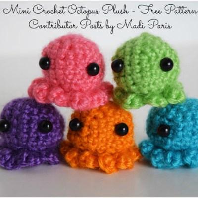 Mini Crochet Octopus Plush – Free Pattern