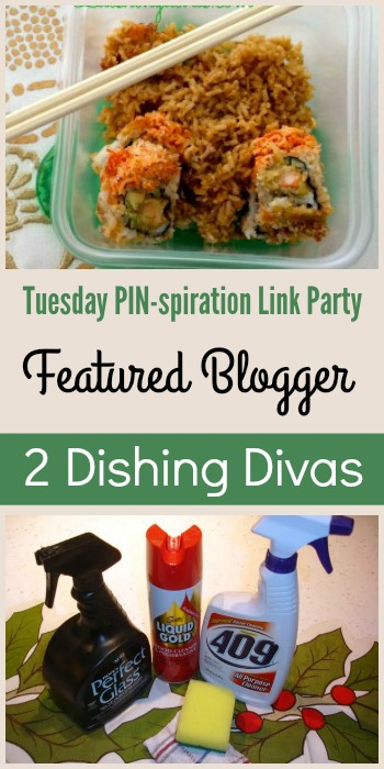 Tuesday PIN-spiration Link Party Featured Blogger - 2 Dishing Divas | www.thestitchinmommy.com