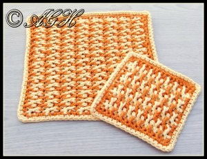 washcloth and coasterbbc