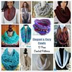 Elegant & Cozy Cowls – 12 Free Crochet Patterns