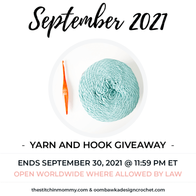 September Yarn and Hook Giveaway featuring Furls and Caron Cotton Cakes
