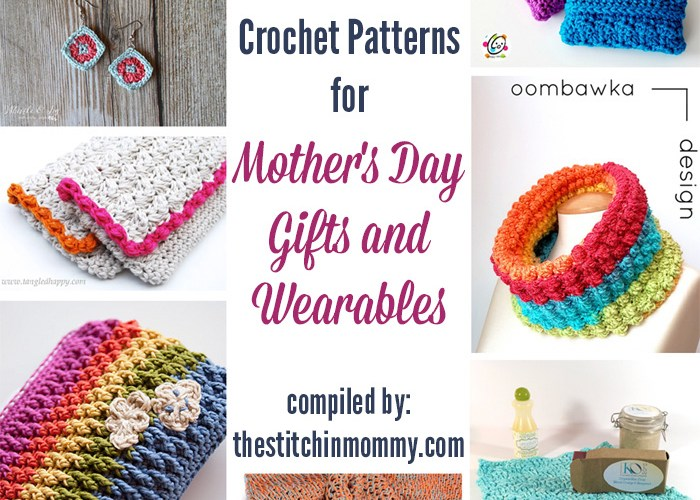22 Free Crochet Patterns for Mother's Day Gifts And Wearables