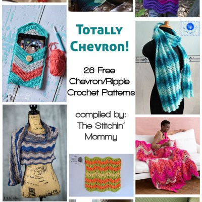 Totally Chevron! 26 Free Chevron/Ripple Crochet Patterns