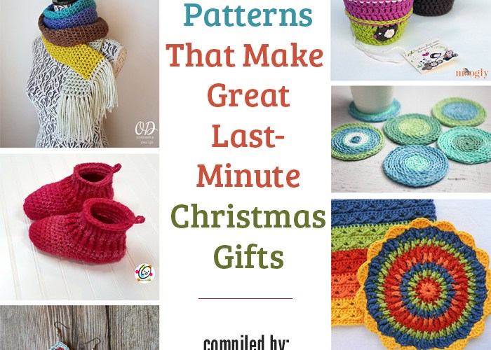 26 Free Crochet Patterns That Make Great Last Minute Christmas Gifts