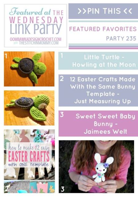 The Wednesday Link Party #235 Featured Favorites | www.thestitchinmommy.com