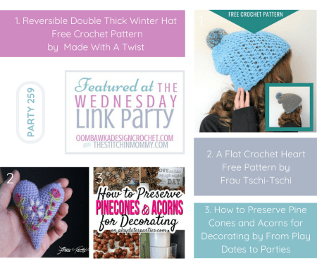 The Wednesday Link Party #259 Featured Favorites | www.thestitchinmommy.com