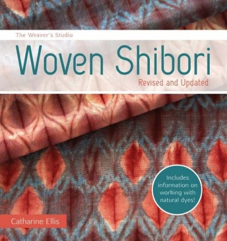 The Weaver's Studio: Woven Shibori - Book Review | www.thestitchinmommy.com