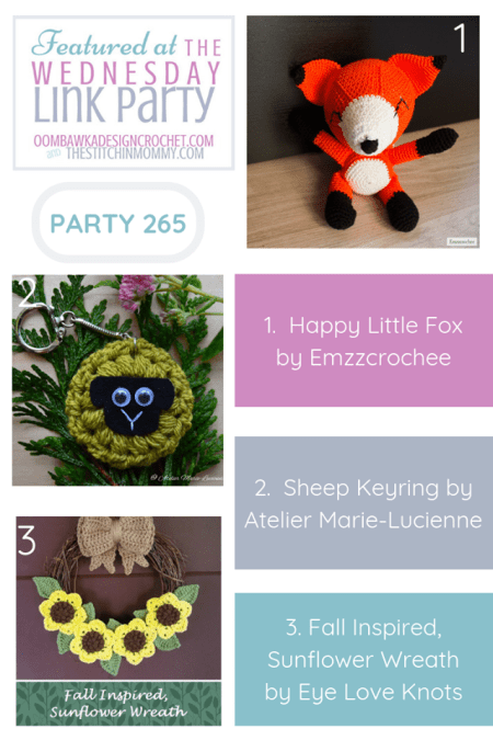The Wednesday Link Party #265 Featured Favorites | www.thestitchinmommy.com
