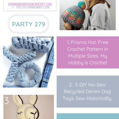 The Wednesday Link Party 279 featuring the Prisma Hat