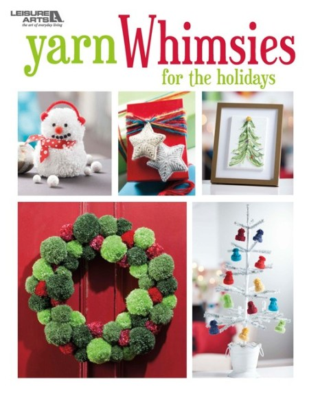 Yarn Whimsies for the Holidays - Book Review | www.thestitchinmommy.com