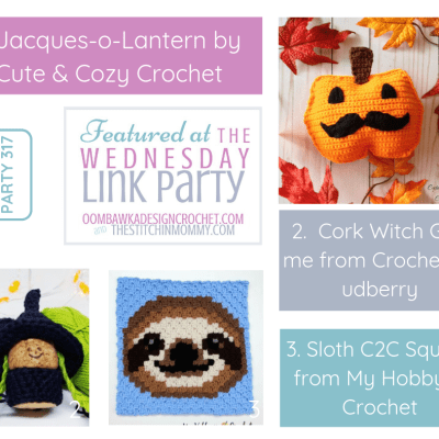 The Wednesday Link Party 317 featuring Jacques-O-Lantern