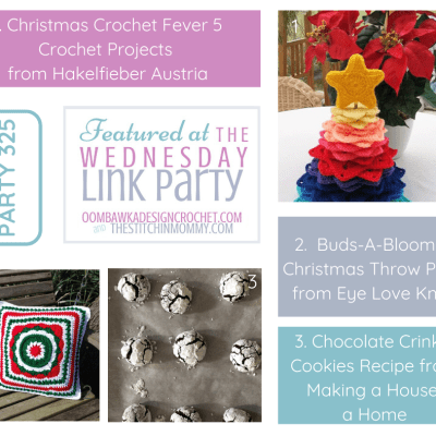 The Wednesday Link Party 325 featuring Christmas Crochet Fever