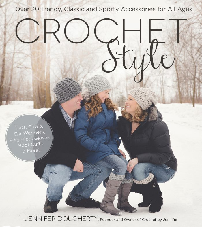 Crochet Style by Jennifer Dougherty - Book Review | www.thestitchinmommy.com