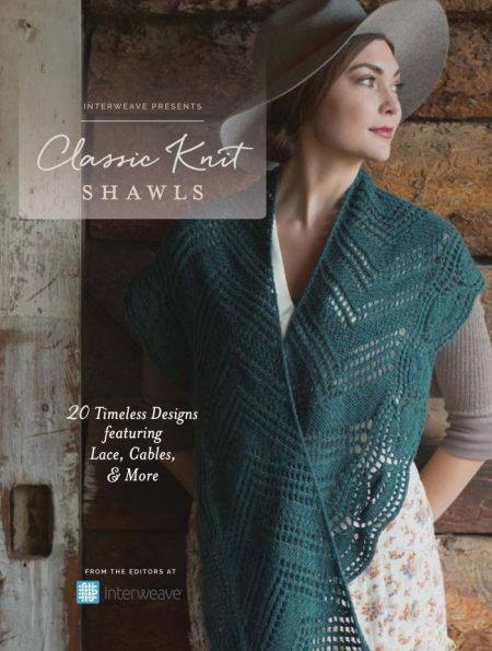 Interweave Presents: Classic Knit Shawls from the Editors at Interweave - Book Review and Giveaway | www.thestitchinmommy.com