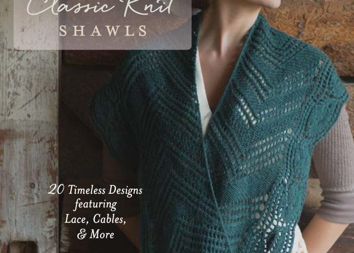 Interweave Presents: Classic Knit Shawls – Book Review and Giveaway