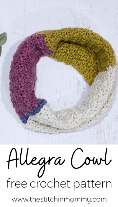 Allegra Cowl – Free Crochet Pattern