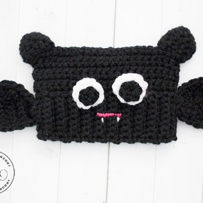 Baby Bat Sack Hat – Free Crochet Pattern