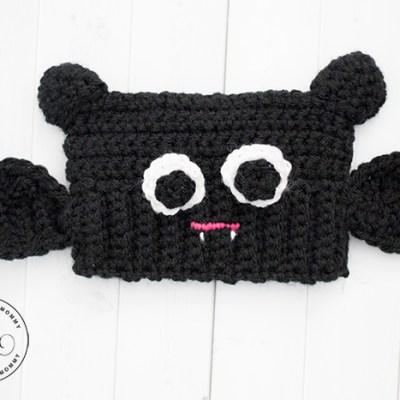 Baby Bat Sack Hat – Free Crochet Pattern